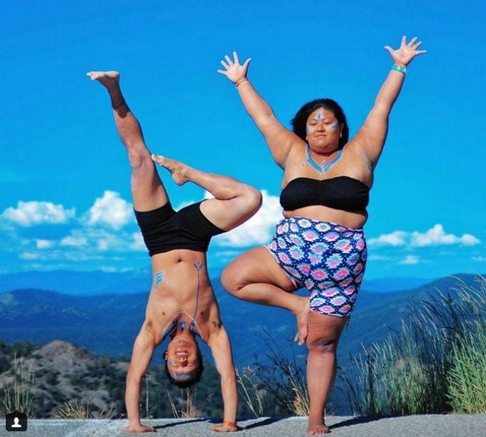 Худеем с помощью йоги