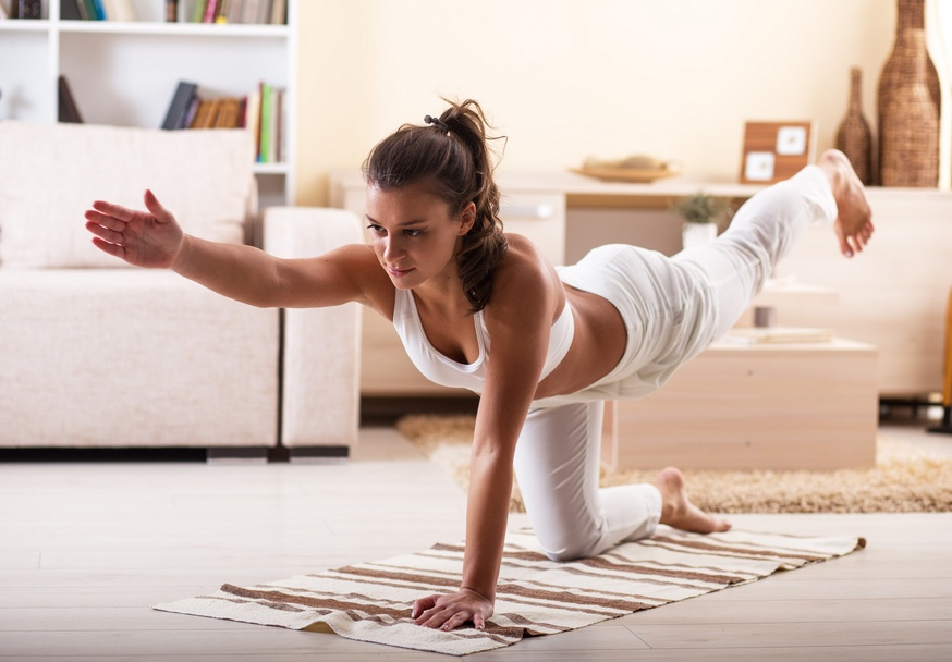 Йога дома для похудения
