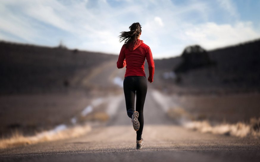 Пробежка - это тоже аскеза