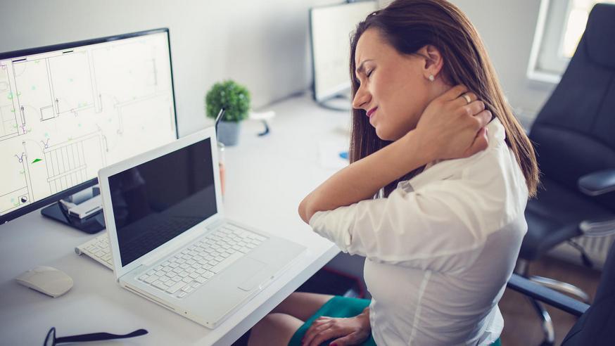 Напряжение при работе за компьютером