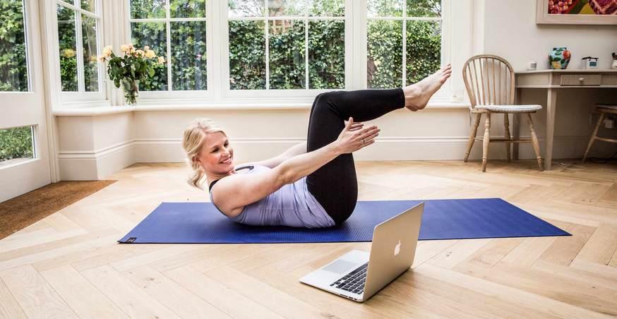 Йога дома видео уроки для похудения