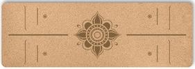 Пробковый коврик для йоги