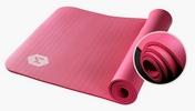 Мягкий толстый коврик для йоги