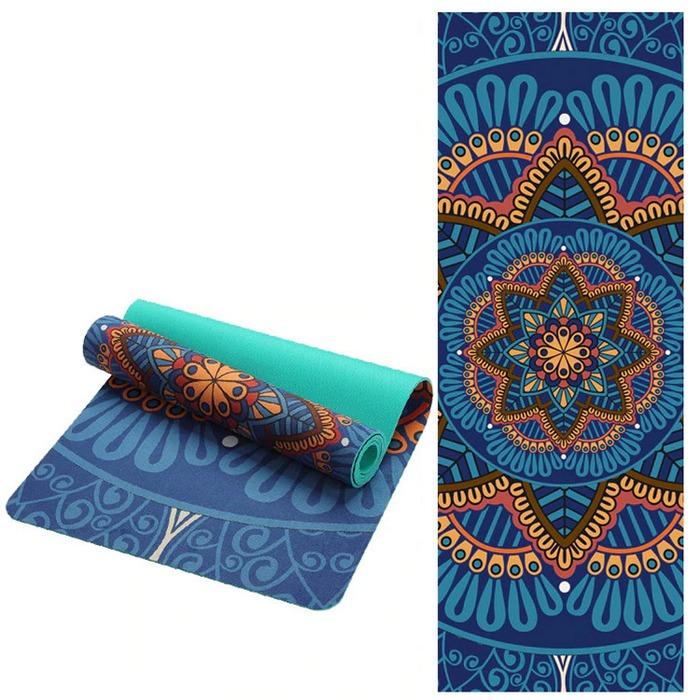 Красивый коврик для йоги